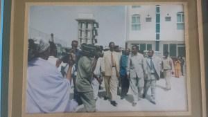 Then Somaliland president Dahir Rayale Kahin